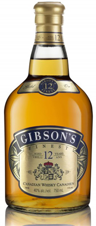 Gibson's Finest Canadian Whisky 12 Year